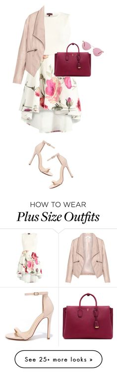 """""""I'M BACK, GUYS!"""" by annasinger on Polyvore featuring Zizzi, Liliana, MCM and…"""