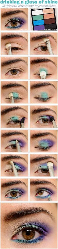 Love these eye makeup tutorials! www.scottlemastersalonandspa.com                                                                                                                                                                                 More