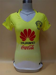 fae2ec045 club america 16 17 season home womens soccer shirt Soccer Kits