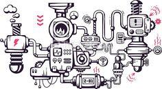 industrial machine vector - Google keresés