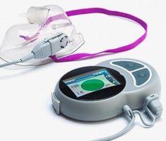 La respiración contador de velocidad para los hospitales