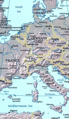 """Europe is bordered by the Arctic Ocean to the north, the Atlantic Ocean to the west, the Mediterranean Sea to the south, and the Black Sea and connected waterways to the southeast. Yet the borders of Europe—a concept dating back to classical antiquity—are somewhat arbitrary, as the primarily physiographic term """"continent"""" can incorporate cultural and political elements."""