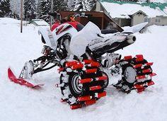 Snow quad.