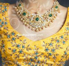 Polki Diamond Pacchi Necklace photo