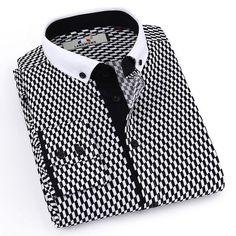 c181868995c Langmeng 2017 New Arrived Brand Dress Shirt Men Long Sleeve Striped Shirts  Stylish Male Casual Shirts Social Camisa Masculina