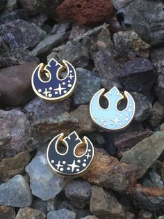 69318581e87 Black, Navy, & White Rebel Alliance Yellow Gold Hard Enamel Pins, The Last  Jedi Pin, Star Wars Hard Enamel Pin, Pin Badge