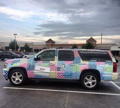 VINEYARD VINES CAR!! My suburban would be dope!!