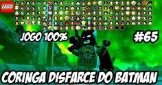 LEGO Batman3│ #65│ CORINGA DISFARCE DO BATMAN(DUBLADO)HD-1080P