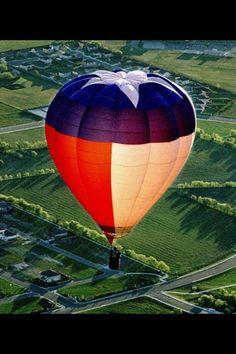 Texas hot air balloon