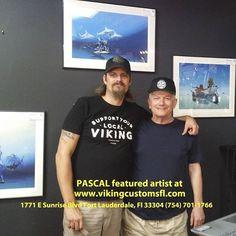 Painter Artist, Artwork Display, Fort Lauderdale, Limited Edition Prints, New Work, Vikings, Harley Davidson, Sunrise, Mens Tops