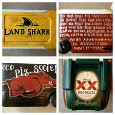 Coolers from The Cooler Girl! Make great gifts for men. My husband LOVES his. Check her out!  www.thecoolergirl.com