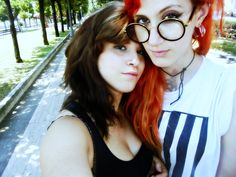 #Love #Gay #lesbian #lesbians #kiss #eyes #lips #youtube #hair #red #mermaid #ariel #tattoos #summer #italy #beautiful #makeup