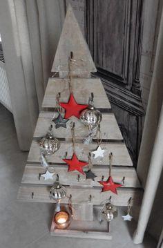 GROßER SHABBY CHIC WEIHNACHTSBAUM HOLZ 100 CM NEU GRAUBRAUN GEWISCHT in Möbel & Wohnen, Feste & Besondere Anlässe, Jahreszeitliche Dekoration | eBay