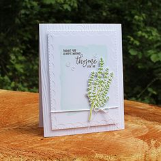 Making Thyme Card by Lizzie Jones for Papertrey Ink (June 2017)