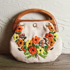 Great way to upcycle embroidered pieces