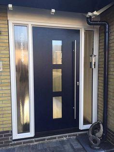 Moderne kunststof voordeur Kroon Kozijn Dijkman