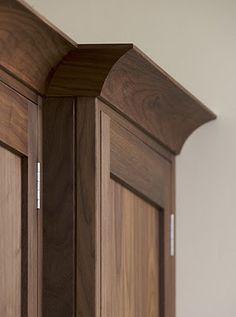 my most indulgent home ideas.. 1. black walnut floors 2. custom handmade roman…