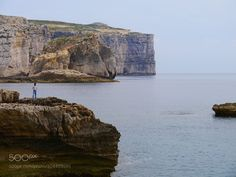 Maltese cliffs by szirazabierowski from http://500px.com/photo/204409095 - . More on dokonow.com.