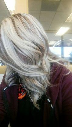 Blonde with 06gi redken lowlights. ❤