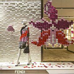 "FENDI,Nanjing,China, ""Autumn/Fall 2015..........Take Note"", pinned by Ton van der Veer"