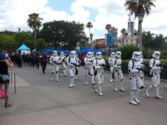 Storm Troopers at SWW 2015's 501st Legion Parade