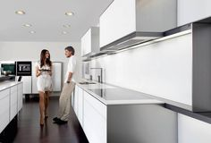 Poggenpohl Porsche. Available from German Kitchens Limited in Wellington, NZ