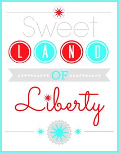 Celebrate and decorate for your 4th of July festivities with these 30 Fourth of July Printables.