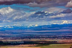 En route to Yakima on Hwy 82 from Ellensburg, there is a view area at the top of the first ridge.   Ellensburg and the Kittitas Valley below and beyond.    Photo Credit- Rebecca Latson Photography    http://www.washingtonstatedestinations.com/