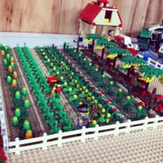 Lego Farm with Vege patch