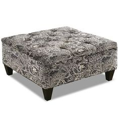 Printed Cocktail Ottoman by Jamar - jcpenney
