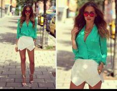 Pantalon - falda