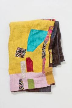 Patchwork Kantha Throw