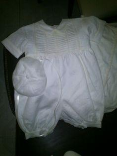 Traje bautizo - niño Baptism Outfit, White Shorts, Ruffle Blouse, Baby, Outfits, Tops, Women, Fashion, Moda
