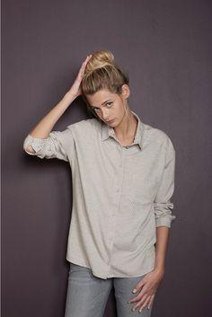 Chemise versus viennois viennois - chemise femme - harris wilson 2 Harris Wilson, Tops, Women, Fashion, Moda, Women's, La Mode, Shell Tops, Fasion