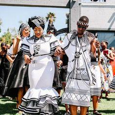 A Xhosa Engagement - South African Wedding Blog South African Traditional Dresses, Traditional Wedding Dresses, Traditional Outfits, Traditional Design, Xhosa Attire, African Print Dress Designs, South African Weddings, African Fashion Dresses, African Wear