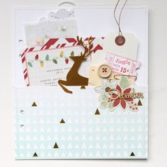 ** Chic Tags- delightful paper tag **: Stephanie's December Daily - pocket page