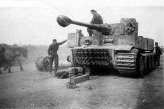 Maintenance on the Tiger I | Panzertruppen | Flickr