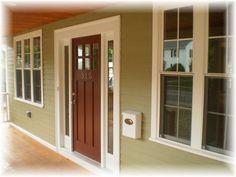 Lite Craftsman Style Entry Door With Lite Sidelights Main Door - Sidelights for front doors