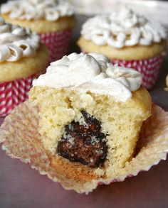 Truffle-Stuffed Olive Oil Cupcakes. Yes. — CakeSpy