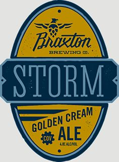 Storm golden cream ale is a traditional American lawnmower beer, this golden cream ale featuring a medium body with a creamy palate feel.