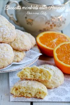 Italian Cookie Recipes, Italian Cookies, Italian Desserts, Easy Delicious Recipes, Sweet Recipes, No Bake Desserts, Dessert Recipes, Nutella, Italian Pastries