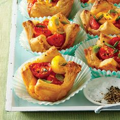 Our new twist on the classic summer pie starts with puff pastry sheets.