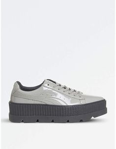 Puma Fenty patent-leather cleated creepers fbceced7c