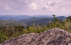 Donna Collins- Fine Art America - On the Rock I Stand- Blue Ridge Parkway- Boone, NC - Print available for purchase