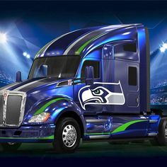 Now this is a TRUCK!!! #GoHawks #SeahawksSB50