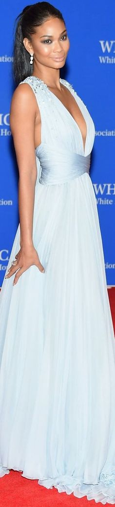 CHANEL IMAN 2015 WHITE HOUSE CORRESPONDENTS' DINNER     jαɢlαdy