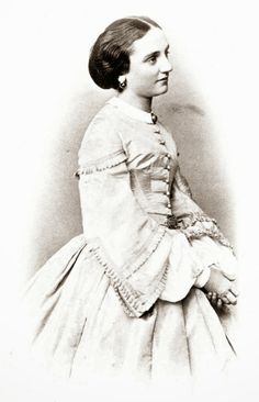 Princess Sophie Marie of Saxony, ca. 1865.