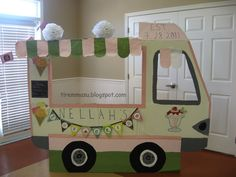 Ice Cream Themed Party - Ice Cream Truck Photo Opp. for the guests!