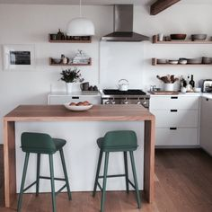 Like the edges on the shelves Best Kitchen Finalist in the 2015 Remodelista Considered Design Awards