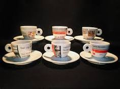 No water No coffee Illy set Cups, Coffee, Tableware, Water, Collection, Kaffee, Gripe Water, Mugs, Dinnerware
